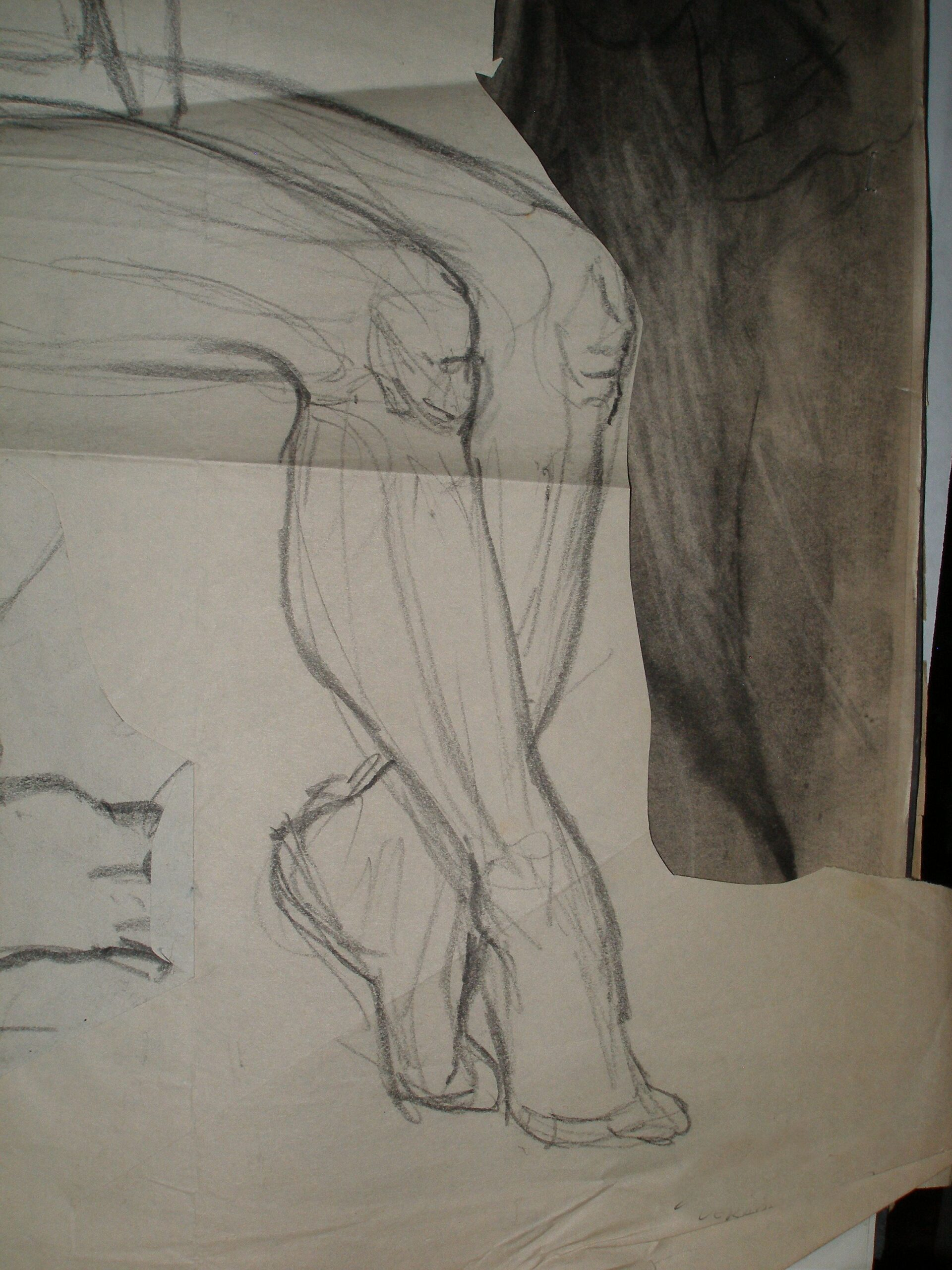 Featured College Era Figure Drawing