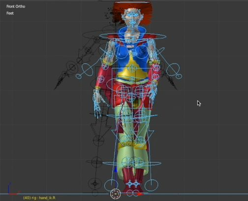 Rigging 3D Characters